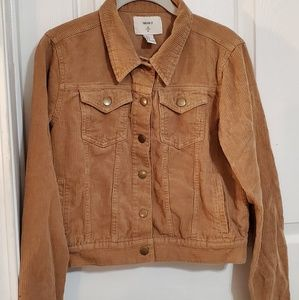 Forever 21 Tan Courderoy Jacket